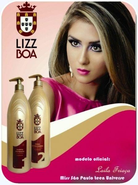 Mega promo o do m s kit progressiva lizz boa loja lizzboa for Progressiva salone e boa